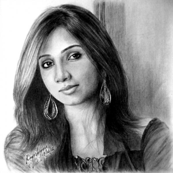 Shreya Ghosal por KingsoVarghese